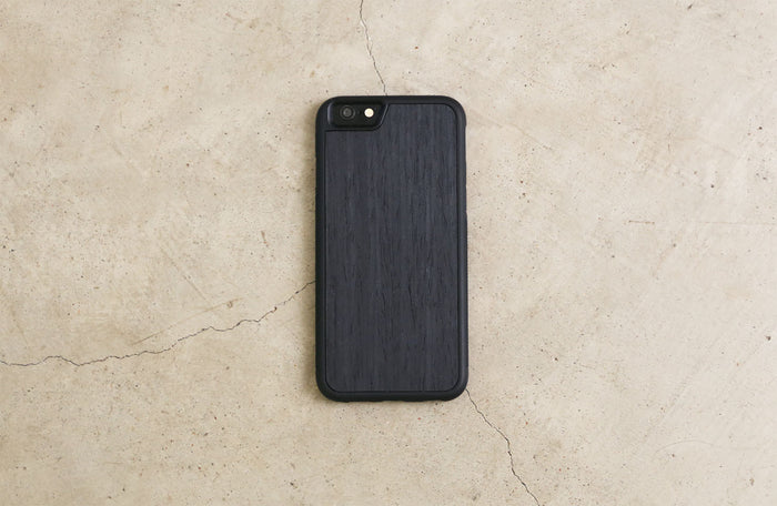 Real Wood iPhone Case Black Ash 5 5S 6 6S 6 Plus 7