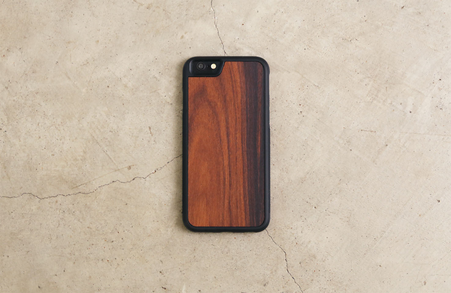 Real Wood iPhone Case Rosewood 5 5S 6 6S 6 Plus 7