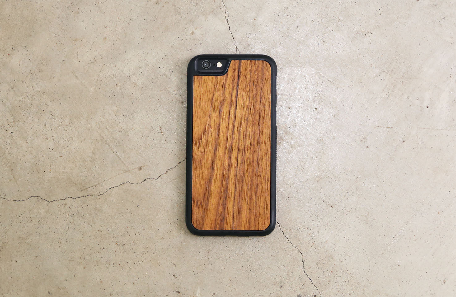 Real Wood iPhone Case Teak 5 5S 6 6S 6 Plus 7