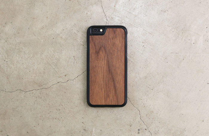 Real Wood iPhone Case Walnut 5 5S 6 6S 6 Plus 7