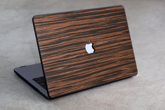 LIMITED EDITION Real Wood MacBook Case -- Ebony