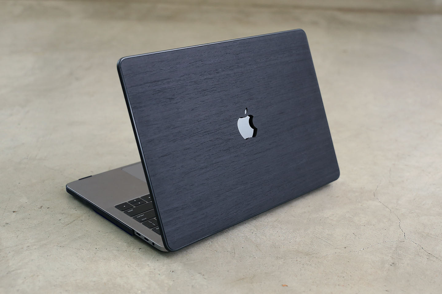 Real Wood MacBook Case Black Ash Pro Air TouchBar