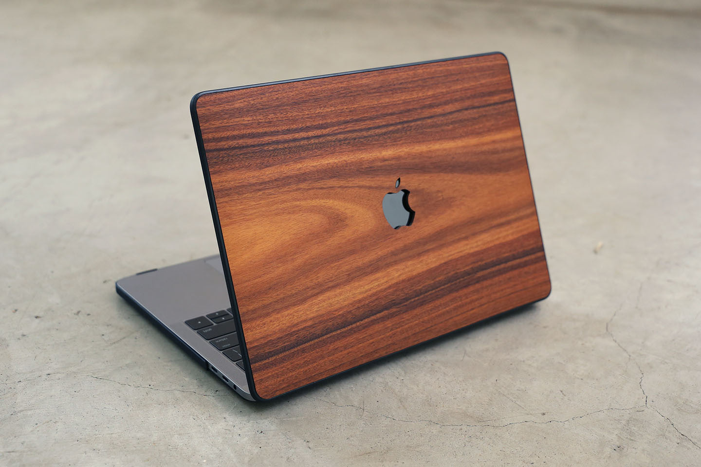 Real Wood MacBook Case Rosewood Pro Air TouchBar