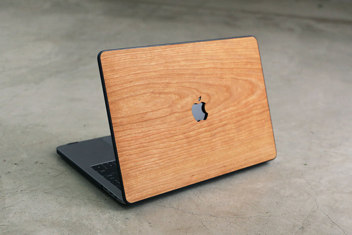 Real Wood MacBook Case Cherry Pro Air TouchBar