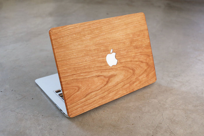 Real Wood MacBook Skin Decal Case Cherry Pro Air TouchBar