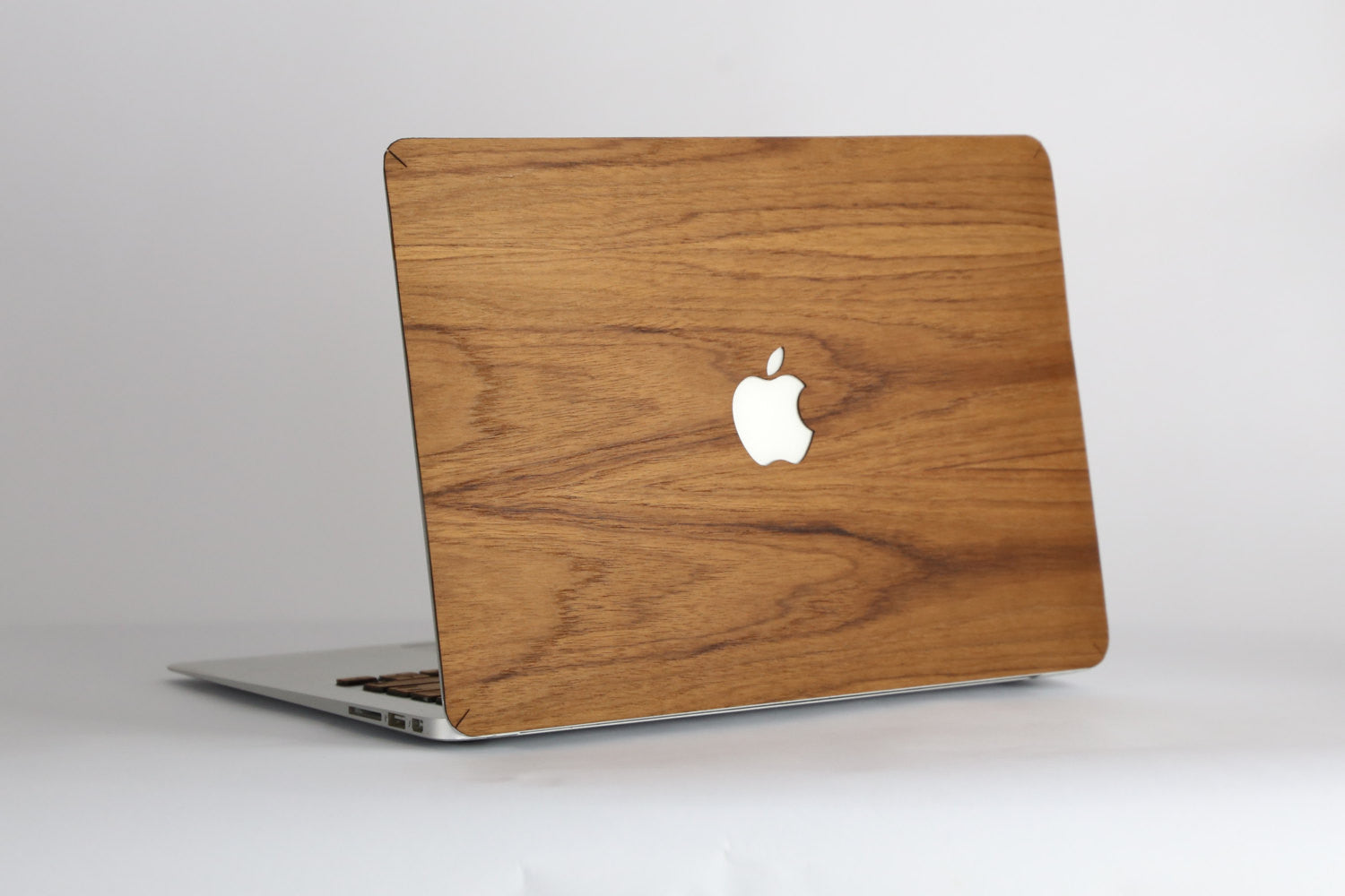 Real Wood MacBook Skin Decal Case Teak Pro Air TouchBar