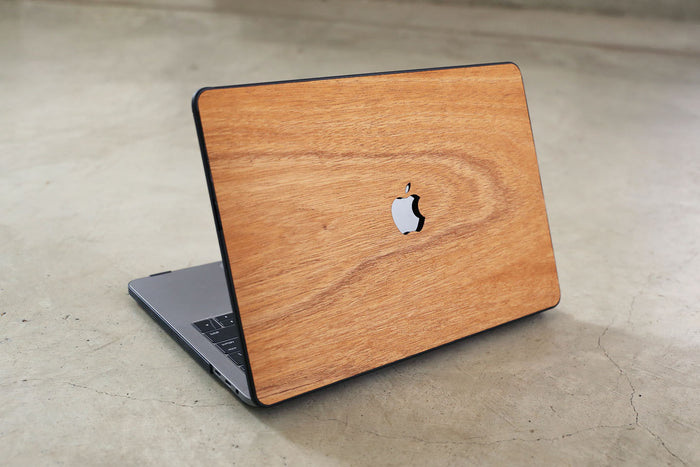 Real Wood MacBook Case Mahogany Pro Air TouchBar