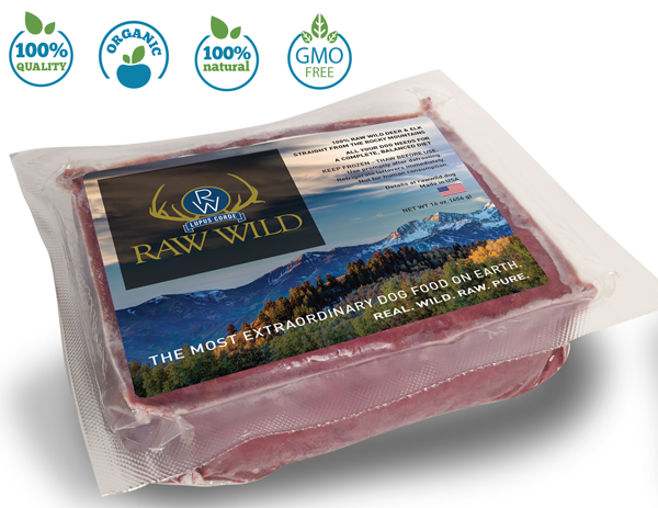 Premium Raw Dog Food 25% OFF!