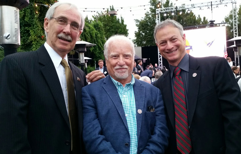 David Meister, Richard Dreyfuss and Gary Sinise, June 2016