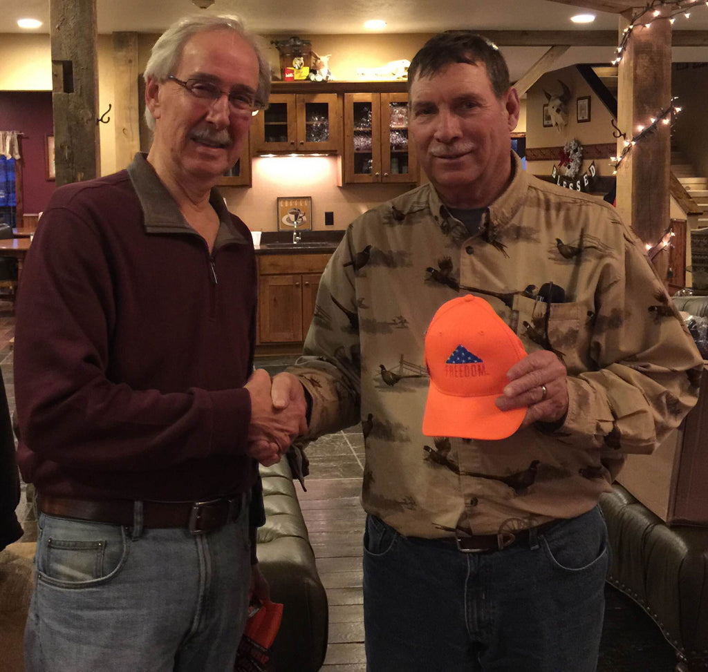 Robert Roeder - Organizer 8th Annual Disabled Veterans Pheasant Hunt - 2015
