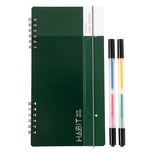 Habit Marker And Notebook Set