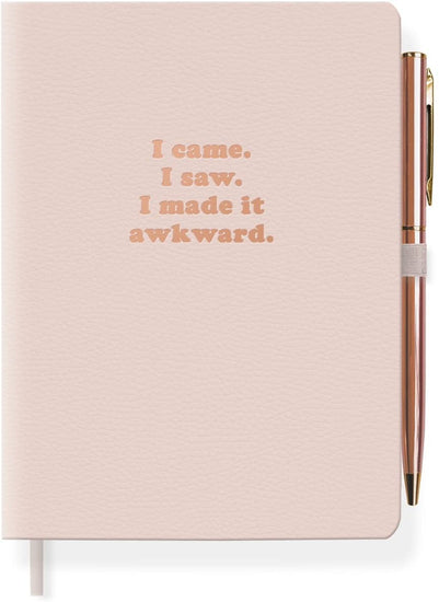 Made it Awkward Journal with Pen