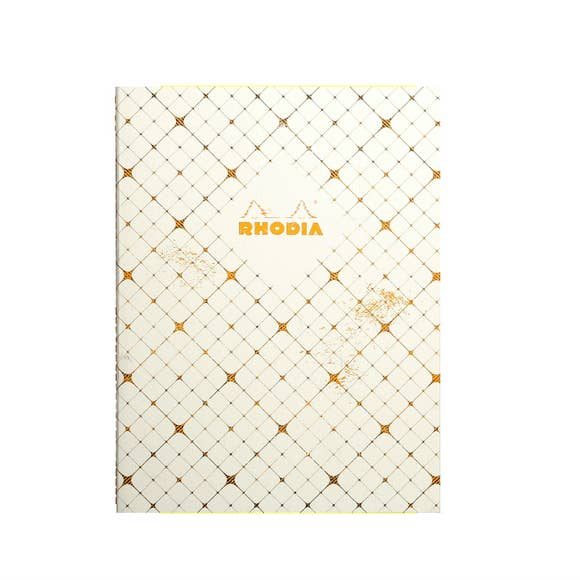 Rhodia Sewn Spine Notebook - Checkered
