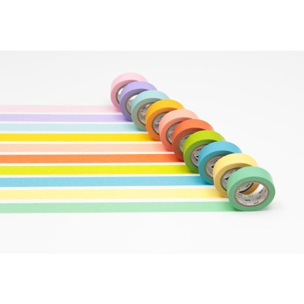 10 Color Washi Tape Box