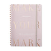 Mauve Large Workbook