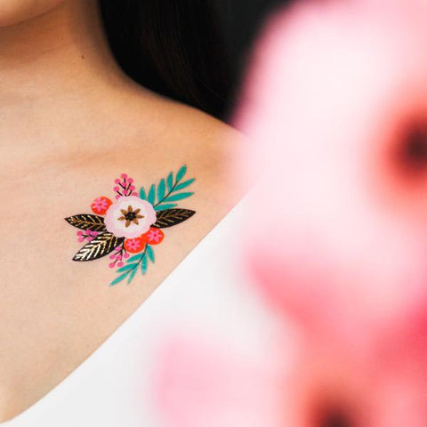 Summer Temporary Tattoo Set