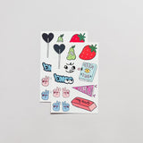 The Girl Gang Sheet Temporary Tattoo Set