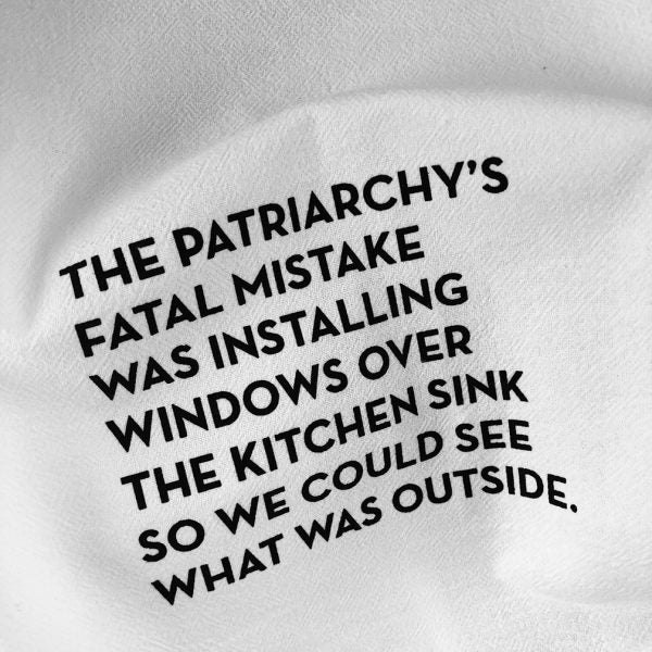 Kitchen Window Tea Towel