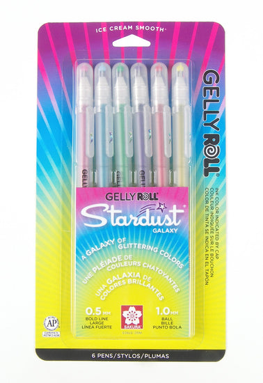 Gelly Roll Stardust 6 Pack