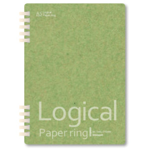 Light Green Logical Paper Ring Notebook