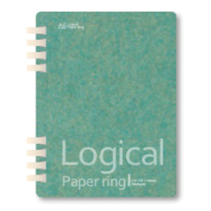 Light Blue Logical Paper Ring Notebook