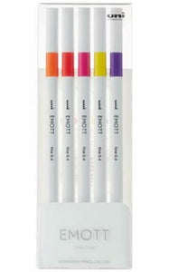 EMOTT Fineliner 5 Pack - No. 2 Passion