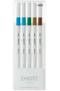 EMOTT Fineliner 5 Pack - No. 4 Island