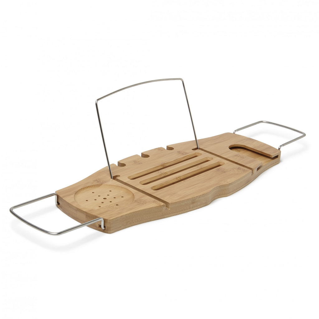 Wooden Bathtub Caddy