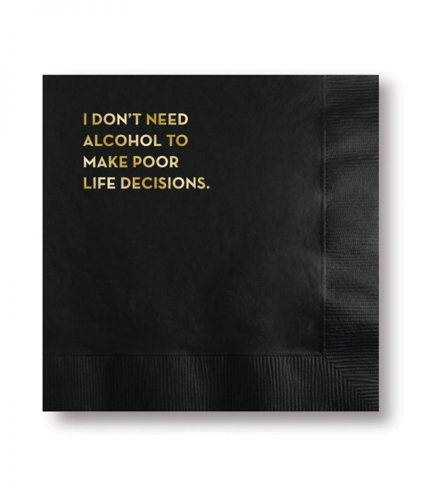 Life Decisions - Napkins