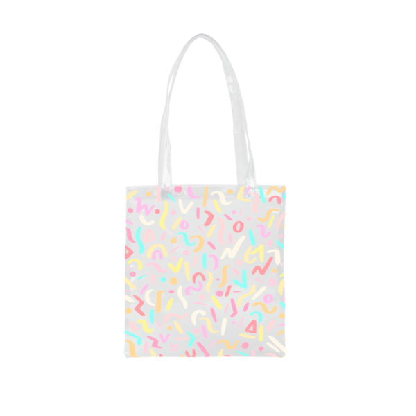 Main Squeeze Animal Party Vinyl Tote