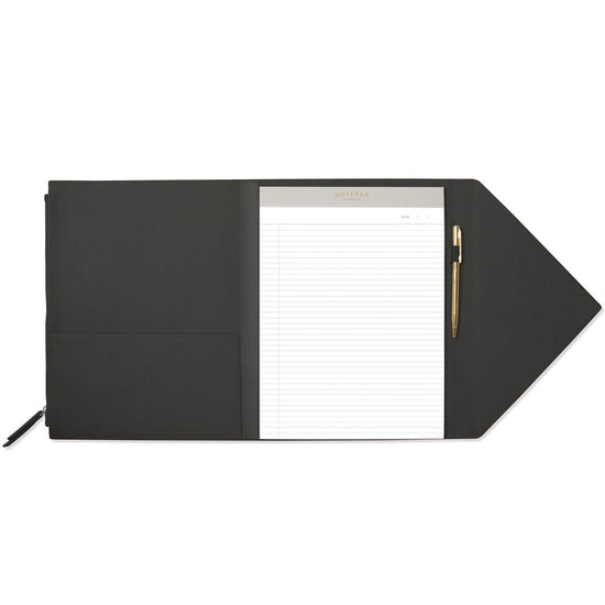 Black Large Envelope Padfolio
