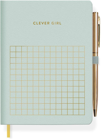 Clever Girl Journal with Pen