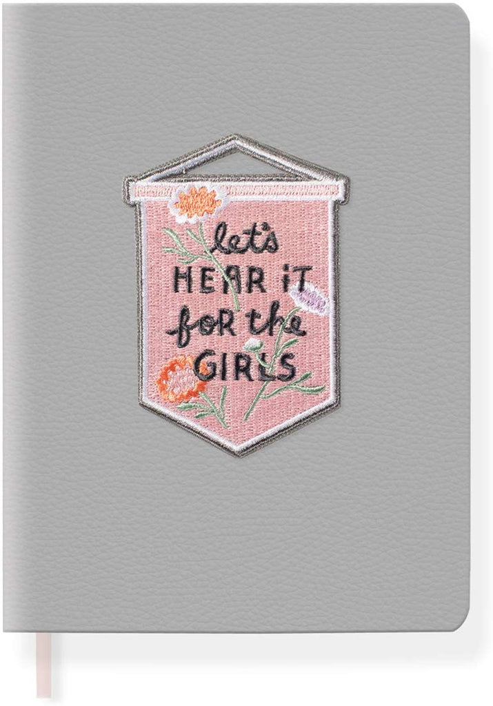 For the Girls Patch Journal