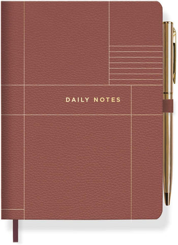 Daily Notes Journal with Pen