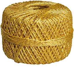 Gold Cord Spool-- Roll of 66 ft.