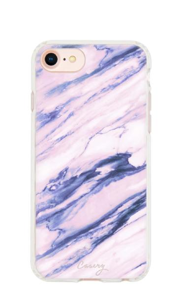 Purple Marble Phone Case