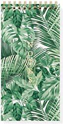 Rainforest Tall Spiral Notepad
