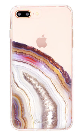 Dusty Agate iPhone Case