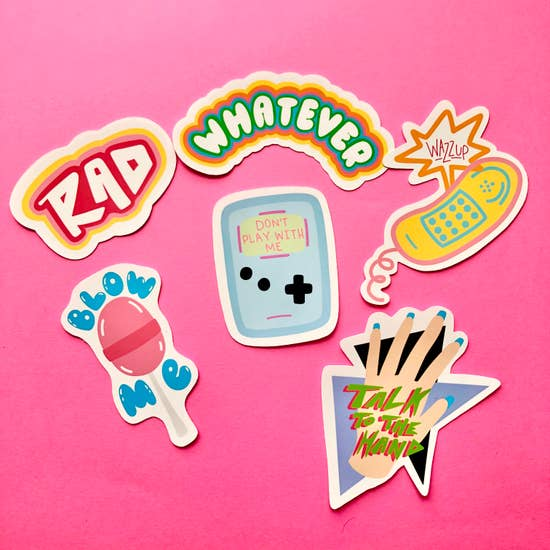 90s Sticker Pack