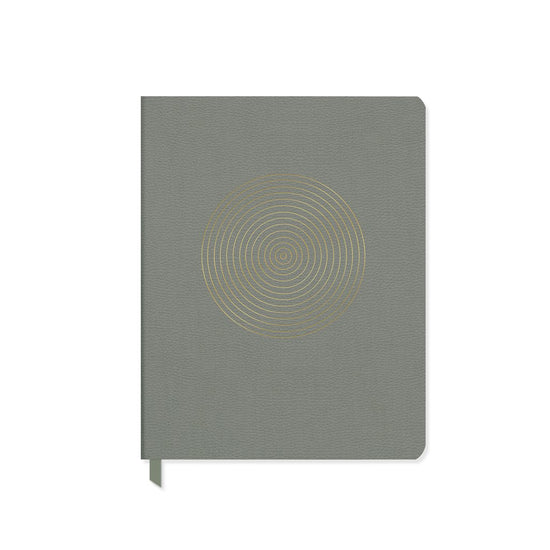 Bullseye Sage Everyday Notebook