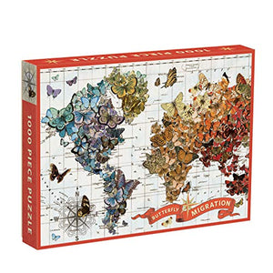 Wendy Gold Butterfly Migration 1000 Piece Puzzle