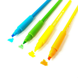 The Annotator 4 Pack Pencil Highlighter - Brights