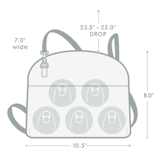 Corkcicle Adair Cross-body Lunch Box