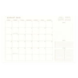 Monthly Planner Standard Issue no. 4
