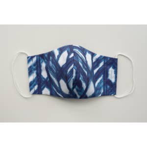 Shibori Lattice Face Mask