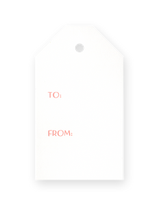 Gift Tags - To From Brush