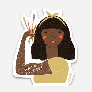 Creative Powerhouse Sticker -- Yellow Headband