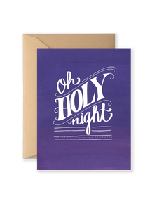 Oh Holy Night Greeting Card