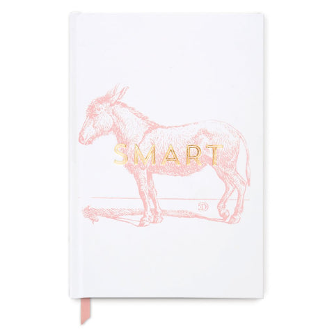 """Smart Donkey"" Vintage Sass Hard Cover Journal"