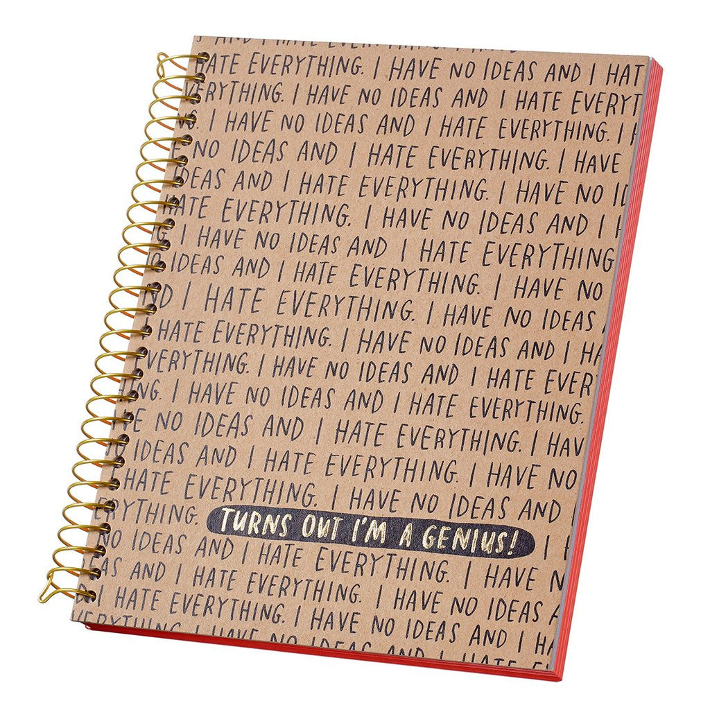 I Have No Ideas Journal